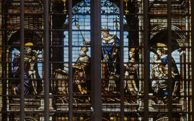 Bernard Van Orley and the stained glass of the cathedral
