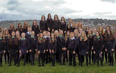Côr Ysgol y Strade Choir (Llanelli, Pays de Galles, UK)